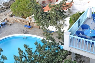 accommodation daidalos hotel pool view