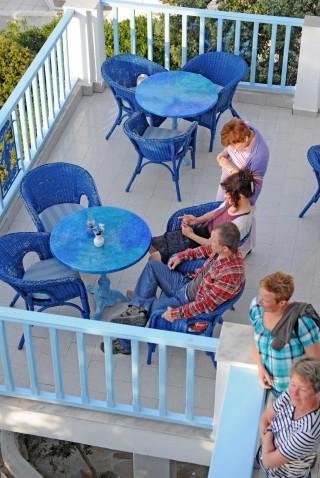 facilities daidalos hotel balcony