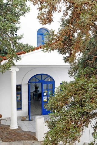 gallery daidalos hotel entrance