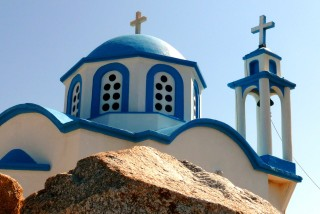ikaria daidalos hotel greek church