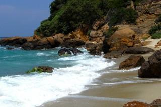 location daidalos hotel beach in ikaria