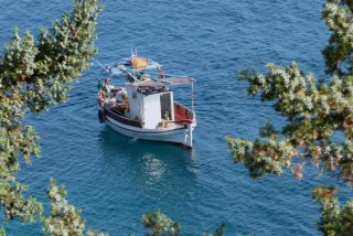 location daidalos hotel boat in ikaria