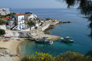 location daidalos hotel ikaria coast
